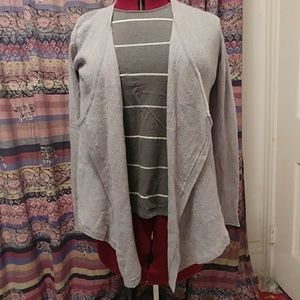 🐑💎Merino Wool heather grey cardigan!!